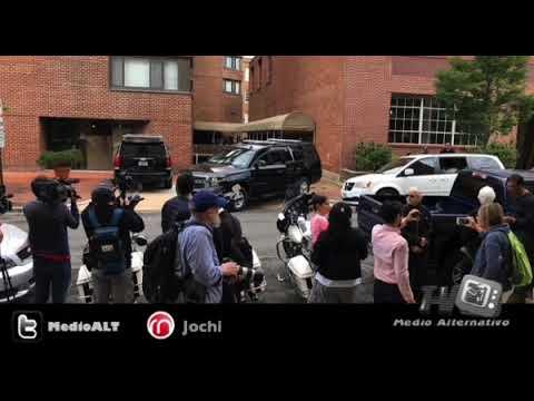 La embajada de Venezuela en EEUU fue retomada