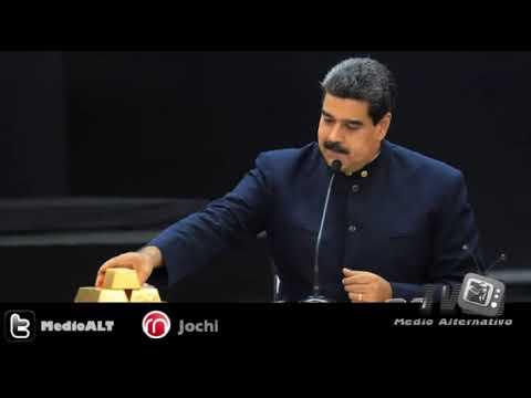 Nicolás Maduro vende oro de Venezuela