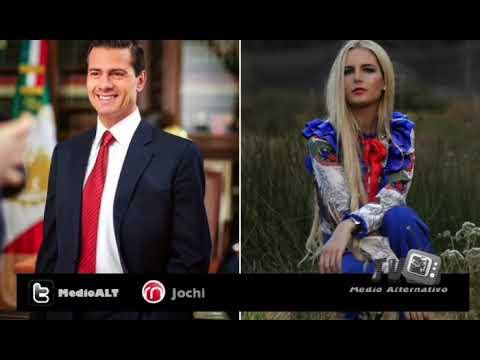 Enrique Peña Nieto reapareció con Tania Ruiz en una boda