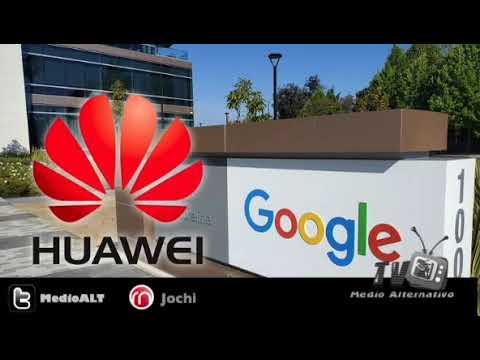 Google suspendió negocios con Huawei