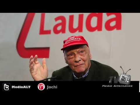 Niki Lauda A los 70 años