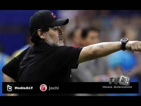 Diego Maradona confirmó que el técnico seguirá al frente de Dorados de Sinaloa