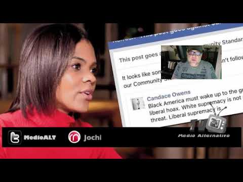 Facebook suspende a Candace Owens