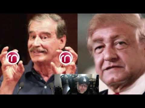 Vicente Fox racista arremete contra AMLO