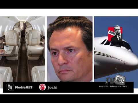 Lujoso avion de Pemex sers subastado