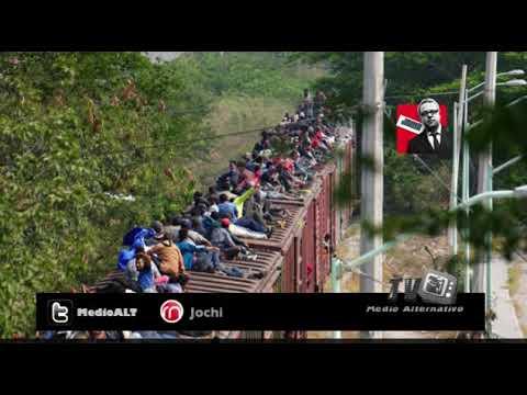 Medio millón de migrantes han pasado por México