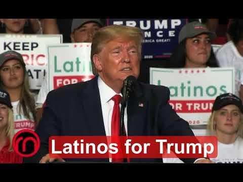 Latinos se alían con Trump