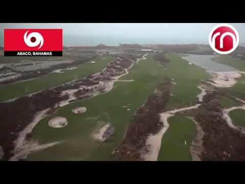 Destruction Total de Abaco Bahamas - Vista Aerea