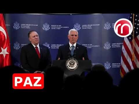 Estados Unidos y Turquía han acordado un alto el fuego