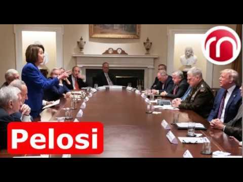"""Trump dijo que Nancy Pelosi """"es una persona muy enferma"""""""