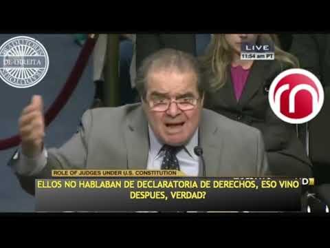 Lo especial de la Constitución de los Estados Unidos de America por Juez Scalia
