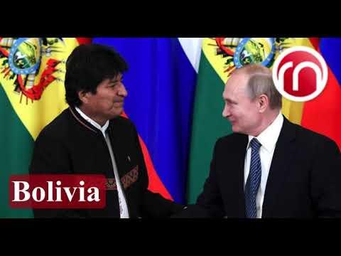 Evo - Muy agradecido con el hermano Vladímir Putin
