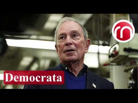 Multimillonario exalcalde de Nueva York Michael Bloomberg presenta su candidatura