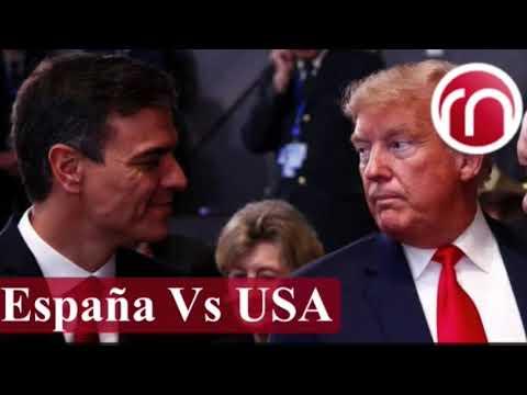 EE.UU. estudia sanciones contra España por su ayuda a  Nicolas Maduro