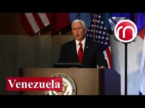 """Mike Pence: """"Insta a los militares venezolanos a que se unan al pueblo"""