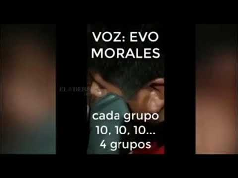 Evo Morales ordena bloquear entrega de alimentos