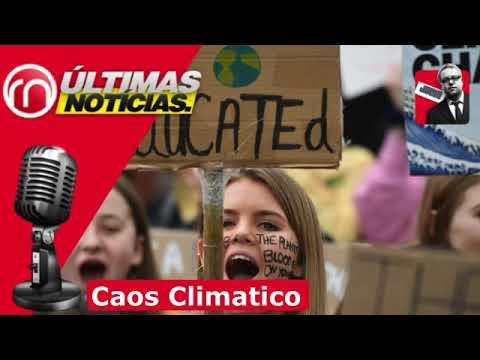 De Cambio Climatico a CAOS CLIMATICO