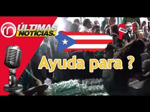 Gobierno Democrata de Puerto Rico esconde ayuda a damificados
