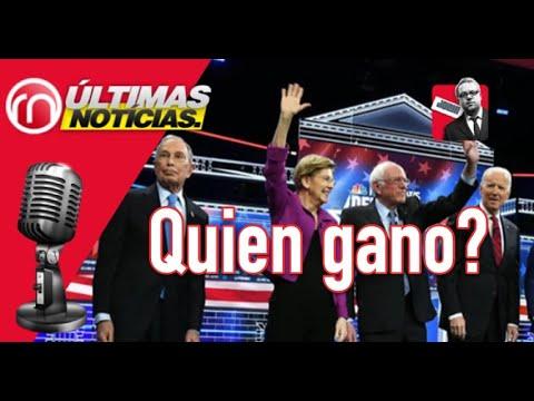 Los ganadores y perdedores del debate demócrata Las Vegas Nevada