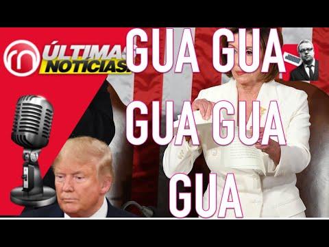 Nancy Pelosi provoca burlas, críticas, y 'memes' tras romper el discurso de Trump
