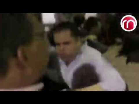 Hordas y matones de Nicolas Maduro atacan a Juan Guaidó en Aeropuerto de Venezuela.