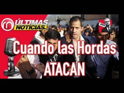 Juan Guaidó y su esposa son atacados en el Aerupuerto de Venezuela