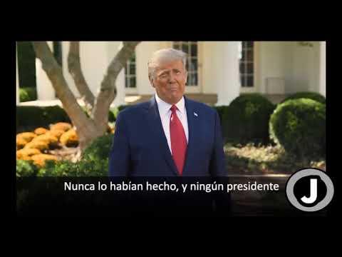 Trump Anuncia medicamentos Gratis en Contra  de Covid-19
