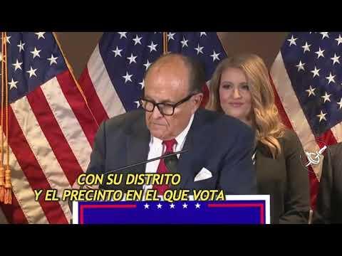 Abogado del Presidente de EEUU expone el caso en contra del conteo